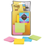 Post it Full Adhesive Notes 8 pads of Assorted Colours