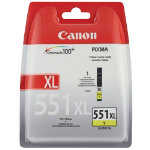 Canon CLI 551XL Original Yellow Ink Cartridge 6446B001