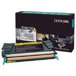 Lexmark X746 X748 Yellow Return Program Toner Cartridge