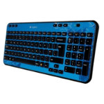 Logitech Colour Collection K360 Wireless Keyboard Indigo