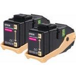 Epson S050607 Original Toner Cartridge C13S050607 Magenta Pack 2