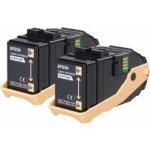 Epson S050609 Original Toner Cartridge C13S050609 Black Pack 2