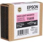 Epson T580 Original Light Magenta Ink Cartridge C13T580B00