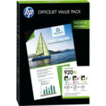 HP 920XL Original Cyan Magenta Yellow Ink cartridge CH081AE