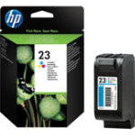 HP 23 Original Cyan Magenta Yellow Ink cartridge C1823D