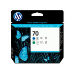HP 70 Original blue and green printhead