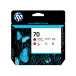 HP 70 Original Black Red Print Head C9409A