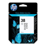 HP 38 Original Light Grey Ink cartridge C9414A