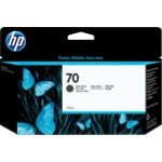 HP 70 Original matte black ink cartridge