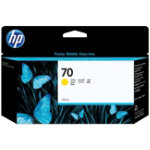 HP 70 Original yellow ink cartridge