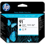 HP 91 Original Black Cyan Print Head C9460A