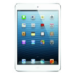 Apple iPad mini 16GB WiFi White Silver