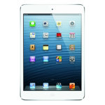 Apple iPad mini 16GB WiFi  3G White Silver