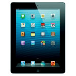 Apple iPad 4th Gen 16GB Retina Display  WiFi Black