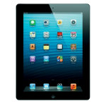 Apple iPad 4th Gen 16GB Retina Display  WiFi  4G Black