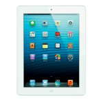 Apple iPad 4th Gen 16GB Retina Display  WiFi  4G White