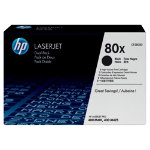 HP No80X Hi Yeild Black Toner Cartridge Dual Pack CF280XD