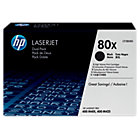 Original HP CF280XD high capacity black laser toner cartridge twin pack HP No No80X