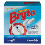 Bryta 5 in 1 Dishwasher tablets pack 120
