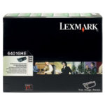 Lexmark 64016HE Black Laser Toner Cartridge