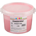 Brianclegg Powder Paints Red 2kg