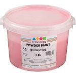 Brianclegg Powder Paints Red 2kg