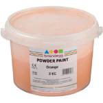 Brianclegg Powder Paints Orange 2kg