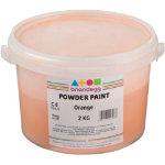 Brianclegg Powder Paints Orange 2kg