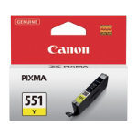 Canon CLI 551Y Yellow Inkjet Cartridge