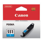 Canon CLI 551 Original Cyan Ink Cartridge 6509B001