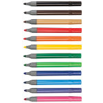 Colourworld Colouring Pens Broad Tip Assorted Pack 144