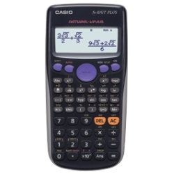 Casio Scientific Calculator FX83GT Black