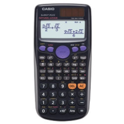 Casio Scientific Calculator FX85GT Plus Black