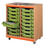 Tomeg 12 Tray Unit with Pistachio Trays