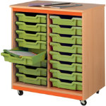 Tomeg 18 Tray Unit with Pistachio Trays