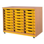 Tomeg 24 Tray Unit with Canary Trays
