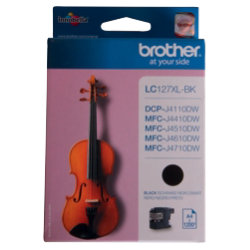 Brother LC127 Original Black Ink Cartridge LC127XLBK