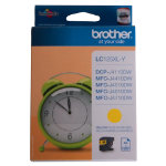 Brother LC125XLY Yellow Inkjet Cartridge Hi Yield