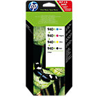 HP 940XL Original Ink Cartridge C2N93AE Black 3 Colours Pack 4