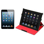Apple iPad mini 32GB WiFi  3G Black Slate  Port Designs Taipei iPad Mini Case Black Red