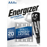 Energizer Batteries Ultimate Lithium AAA Pack 4