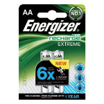Energizer Rechargeable Battery Rechargeables Extreme AA N A 2 Pack