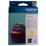 Brother LC123Y Yellow Inkjet Cartridge
