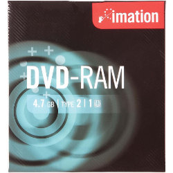 Imation Recordable DVD RAM 47GB