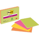 Post it Super Sticky Notes Meeting Assorted 152 x 101 mm 70gsm 4 pieces of 45 sheets
