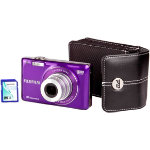 Fuji FinePix JX580 Purple Camera Kit inc 4GB SDHC Card and Case