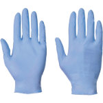 BLUE GLOVES NITRILE POWDER FREE INDUSTRIAL LARGE BOX 100