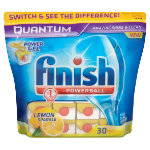 Finish Quantum Lemon Dishwasher Tablets x30 Pack