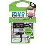 DYMO Label Tape D1 DURABLE 12 mm x 3 m white black
