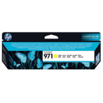 Original HP No971 yellow printer ink cartridge CN624AE